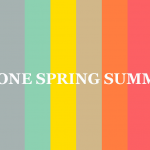 Tendencias Primavera- Verano'14, colores