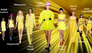 colores pantone amarillos