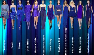 colores pantone azules