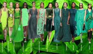 colores pantone verdes