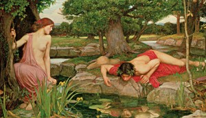 Eco y Narciso . 1905. John William Waterhouse