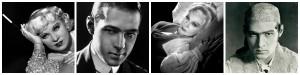 Mae West y Rodolfo Valentino que chic