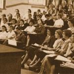 Ocho de Marzo 1910, se autoriza el acceso a mujeres a la universidad
