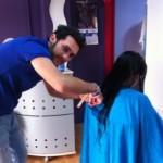 Dani Rojas Mateo, «Nací siendo peluquero»