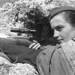 Lady Sniper: retrato de una francotiradora