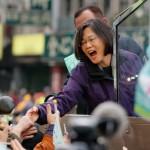LA PRIMERA MUJER PRESIDENTA DE TAIWAN